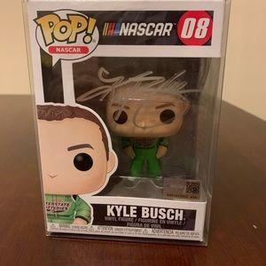 NASCAR Kyle Busch autographed Pop!